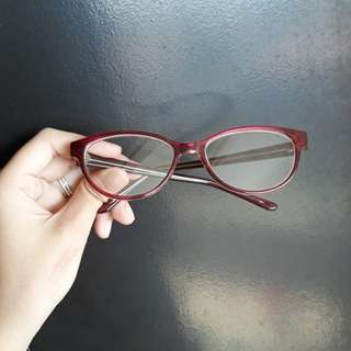 Eyeglass with grade replaceable lense