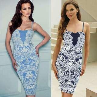 Online Sale: P300 only !!!  💕New Arrival U.S. Style Milky Cotton Vintage 3D Floral Dress💕 💫Milky cotton fabric, soft, stretch and comfy  💫Slit back  💫Adjustable shoulder strap 💫Free size fits S-L 💫Good quality