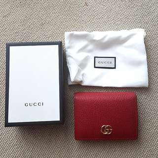 Gucci Leather Card Case / Small wallet
