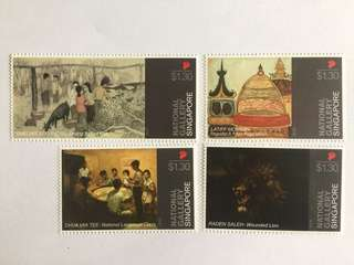 Singapore 2015 National Gallery mnh