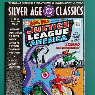 DC Silver Age Classics- Brave and the Bold No.28 comic