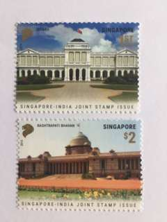 Singapore 2015 india joint issue mnh