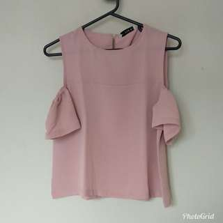 Blouse Nude Pink