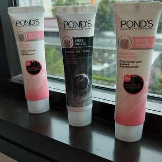Pond's daily facial foam