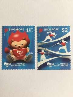 Singapore 2015 asean para games mnh