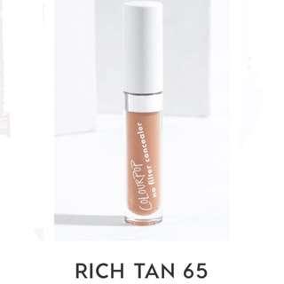 Colourpop No Filter Concealer in 65 Rich Tan