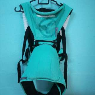 Baby carrier turquoise colour