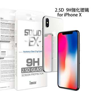 imos Solid -EX- Accessory Glass 2 by Corning for iPhone x