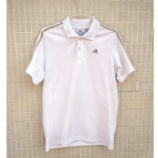 🚚 adidas 古着 白色 透氣 愛迪達 運動衫 古著