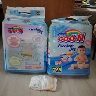 GOON DIAPERS M SIZE THAILAND MADE
