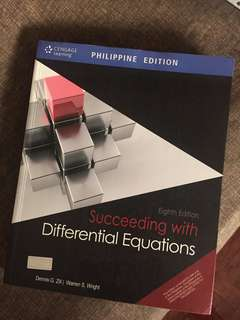 Succeeding with Differential Equations