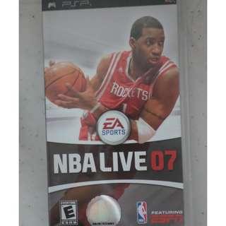 PSP UMD Game NBA live 07 juiced 2 - hot import nights