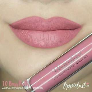 Wardah lip cream berry pretty