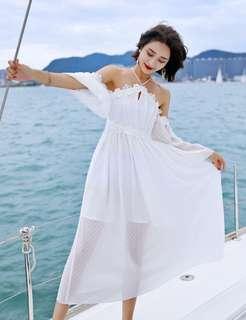 White elegant dress PRE order