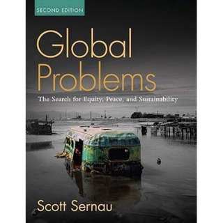 Global Problems book Scott Sernau 2nd Edition