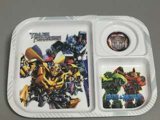 Transformers Food Tray