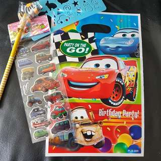 Kids goodie bags - Cars, hello kitty, thomas, spiderman, minions
