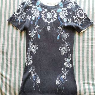 Anne Fontaine floral print sweater