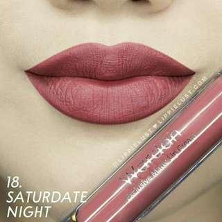 Wardah lip cream saturdate night
