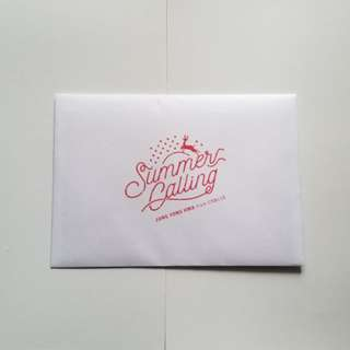 JYH Summer Calling ~ X'mas Card