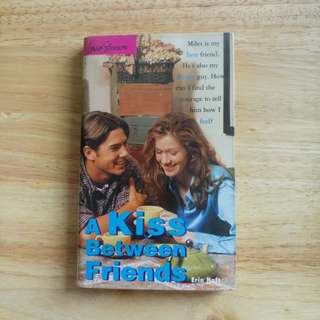 A Kiss Between Friends by Erin Haft