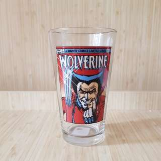 BN Vintage MARVEL COMICS Wolverine Pint Glass