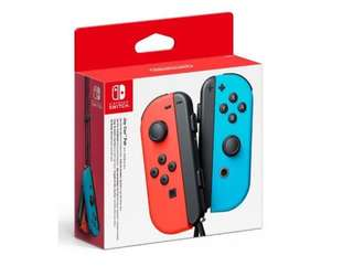 Nintendo Switch Joys Neon Blue & Red