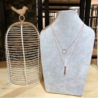 Tareeh Linda Double Layer Necklace