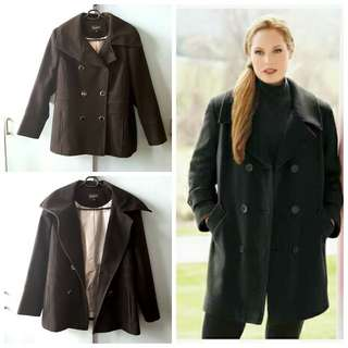 Debenhams Winter Pea coat UK 20 3XL