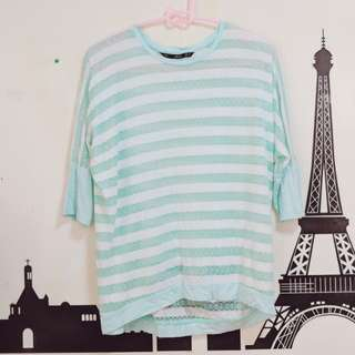 Forme striped top