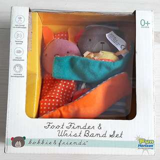 Used Foot Finder & Wristband Set for Newborns