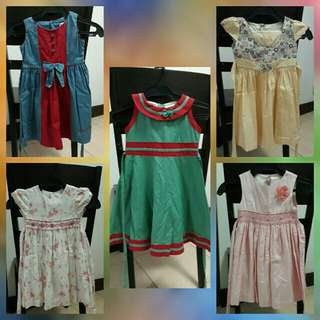 Bundle Toddler dress