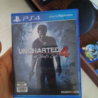 Uncharted 4 Region  All PS4