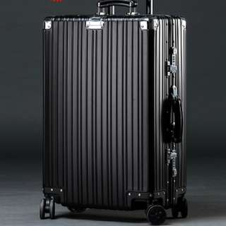 FULL Aircraft Aluminium Magnesium Alloy Scratch Resistant Hard Case Luggage Vintage Series, Rimowa inspired design and function