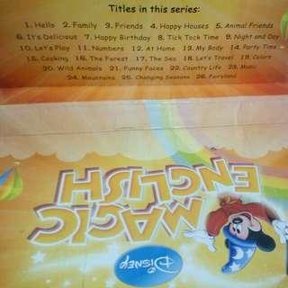 Disney Magic English Dvd and Book