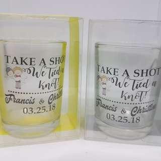 Shot glass souvenirs