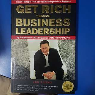 get rich through business leadership