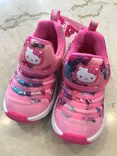 BNIB HELLOW KITTY slip on shoes