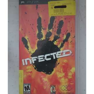 PSP UMD Game infected namco museum battle collection