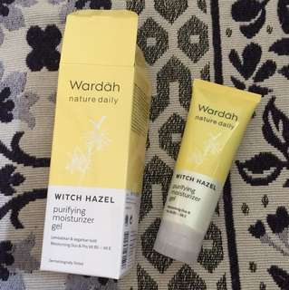 wardah purifying moisturizer gel
