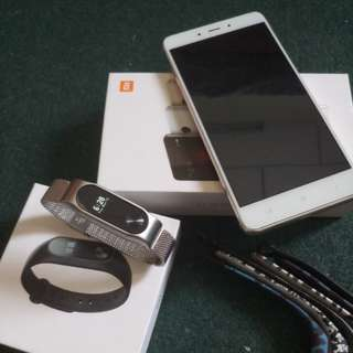 Xiaomi Note 4 (Free casing and screen protector)