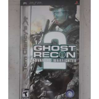 PSP UMD Game tom clancys ghost recon advanced warfighter armored core: formula front