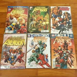The New Avengers 2010-12 Complete