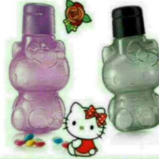 100% Authentic Tupperware Kitty Water Bottle