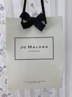 Jo Malone paper bag with ribbon
