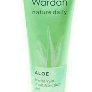 Wardah aloe hydramild multifuction gel