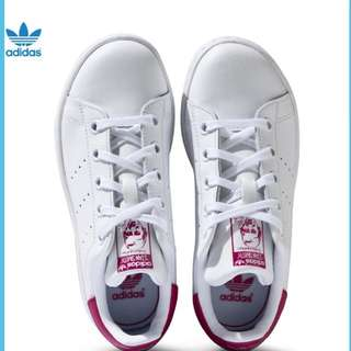 Authenic Addidas Stan Smith Hot Pink UK 6.5