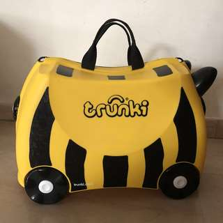 Brand New Trunki Luggage Bumble Bee