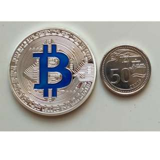 Bitcoin / Ethereum Collectible 1 Troy Ounce