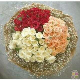 Flower Bouquet∕Hand Bouquet∕Birthday Bouquet∕Anniversary Bouquet∕Proposal Bouquet∕Graduation Bouquet - 1985